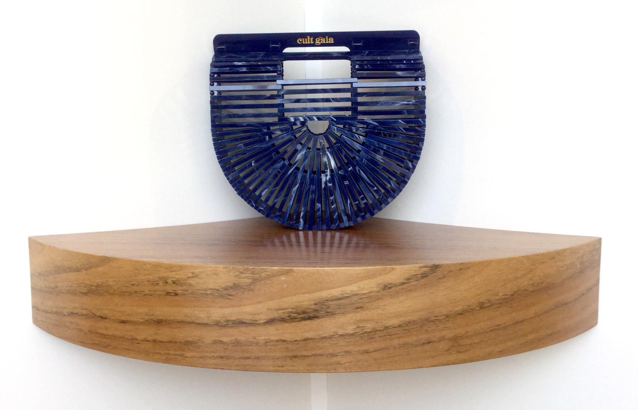 Bolso de mano Ark Small de Cult Gaia de baquelita azul - PATOS Valencia