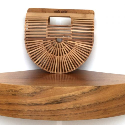 Bolso Cult Gaia pequeño de madera de Bamboo - Upscale Store Valencia Patos
