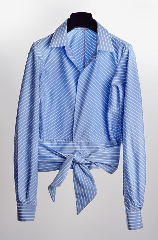 Camisa de El Alquimista anudado a cintura de algodón