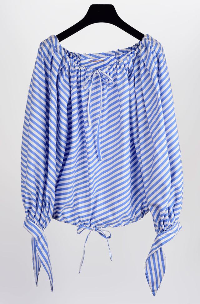 Camisa El Alquimista con cuello y puños anudables