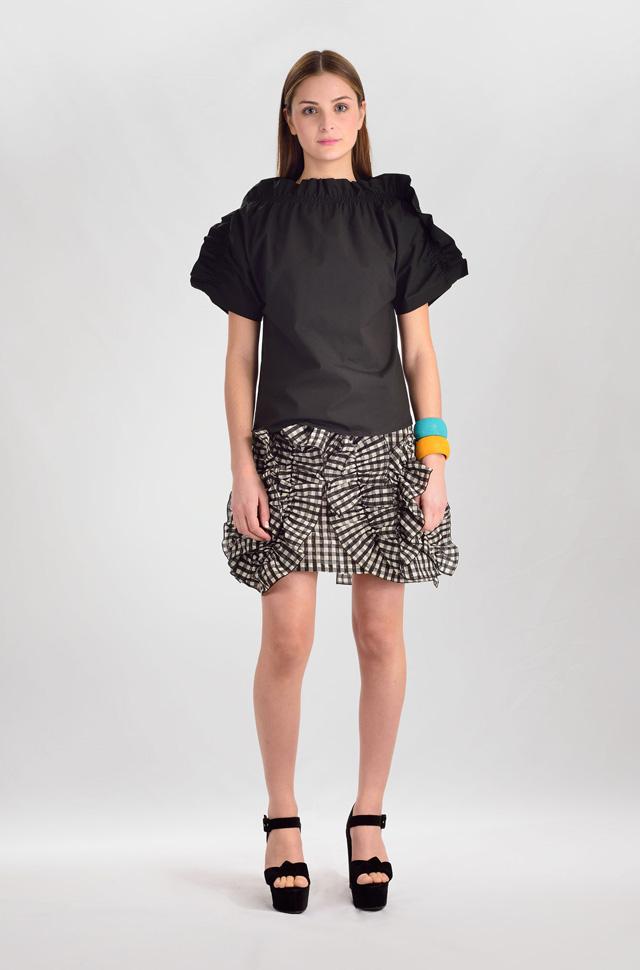 Camisa y falda de MSGM  - Colección Moda Primavera Verano 2017