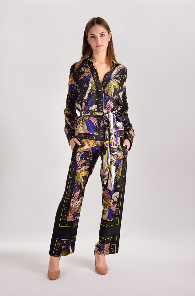 Vestido tipo pijama de Emilio Pucci 2017  - Colección Moda Primavera Verano 2017