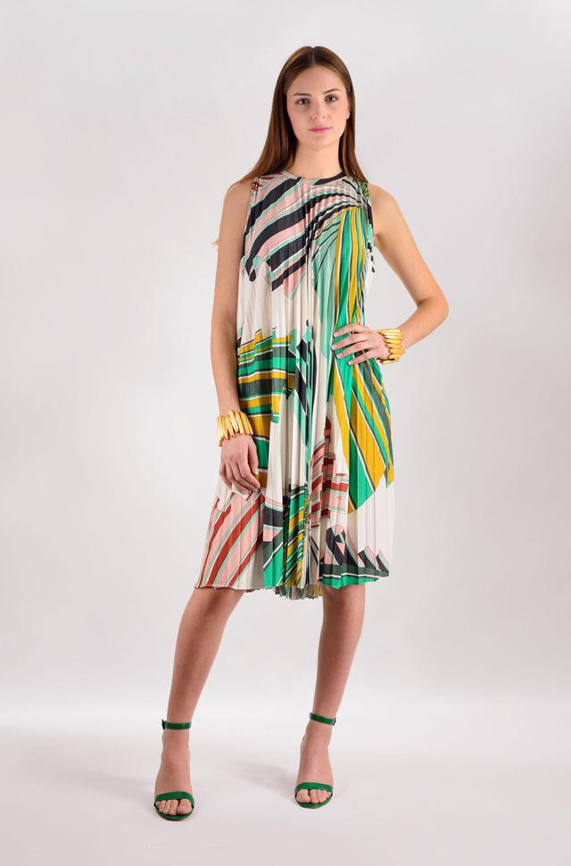 Vestido de Emilio Pucci  - Colección Moda Primavera Verano 2017