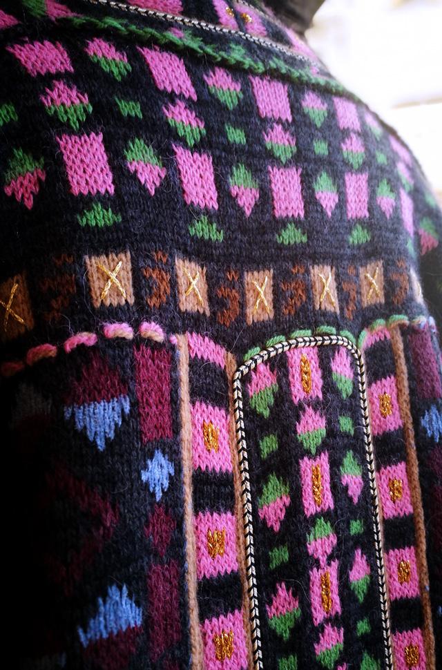 Abrigo Etro estilo boho chic años 70; Punto de Tortona y Pantalones de Citizens of humanity - Colección Otoño Invierno 2018 2019 - Patos Valencia