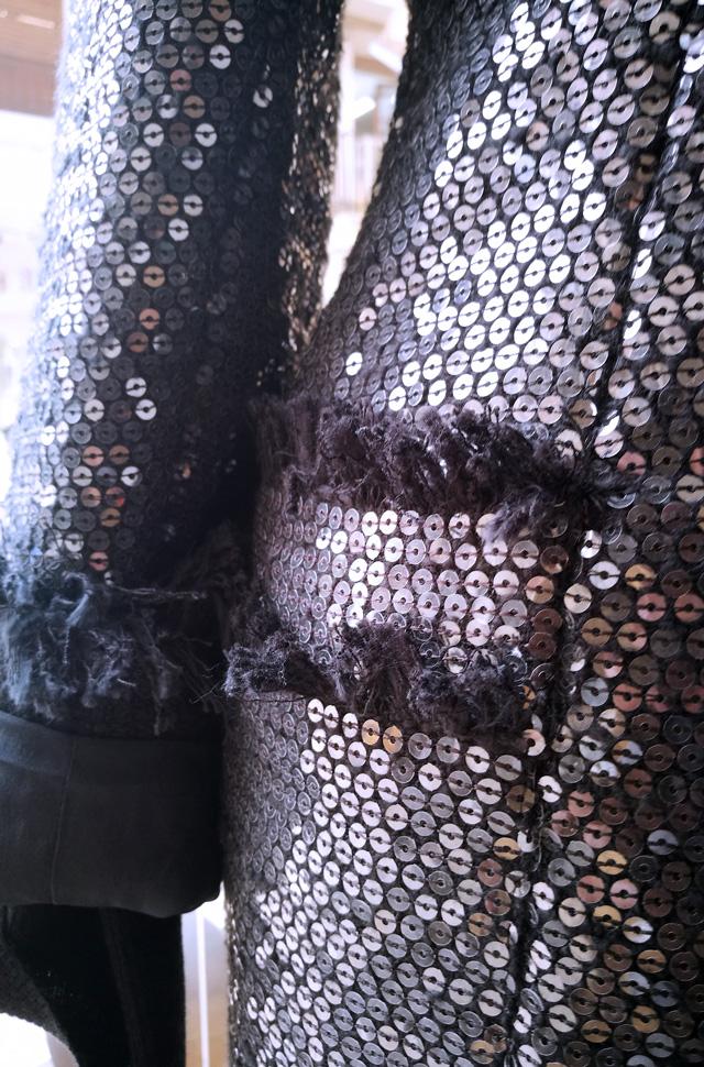 Blazer Lana Buckle de lentejuelas, pantalon de MSGM - Colección Otoño Invierno 2018 2019 -Patos Valencia