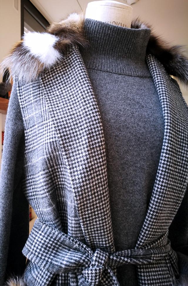 Andrea, suéter de Tortona y pantalones vaqueros de Citizens of Humanity - Coleccion Otoño Invierno 2018/19 - Patos Valencia