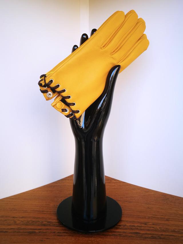 Agnelle guante amarillo