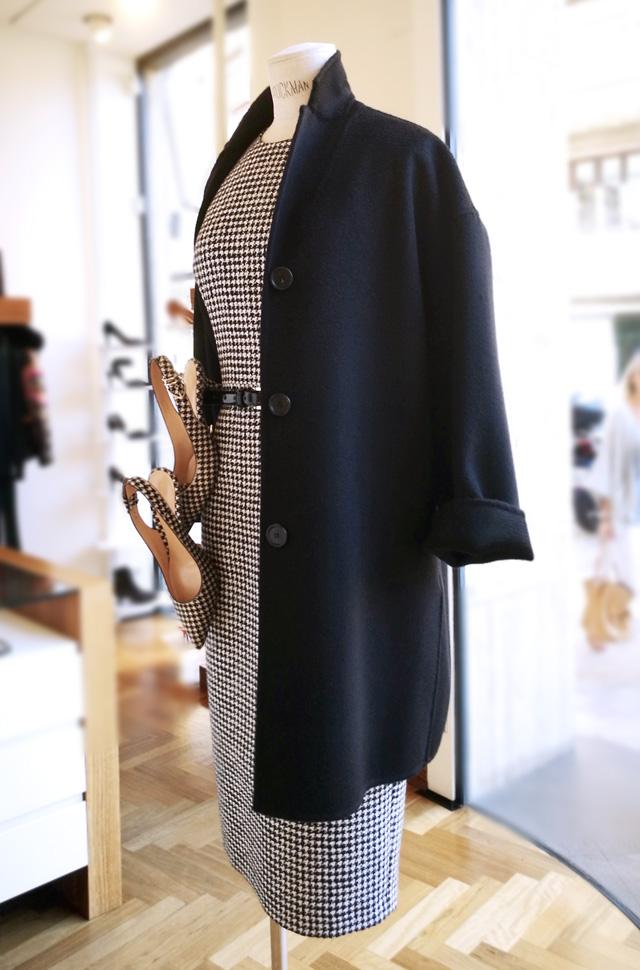 Vestido de Michael Kors Collection 2018 2019 y Zapatos de Gianvit Rossi - Moda mujer Otoño Invierno 2018 2019 - Patos Valencia