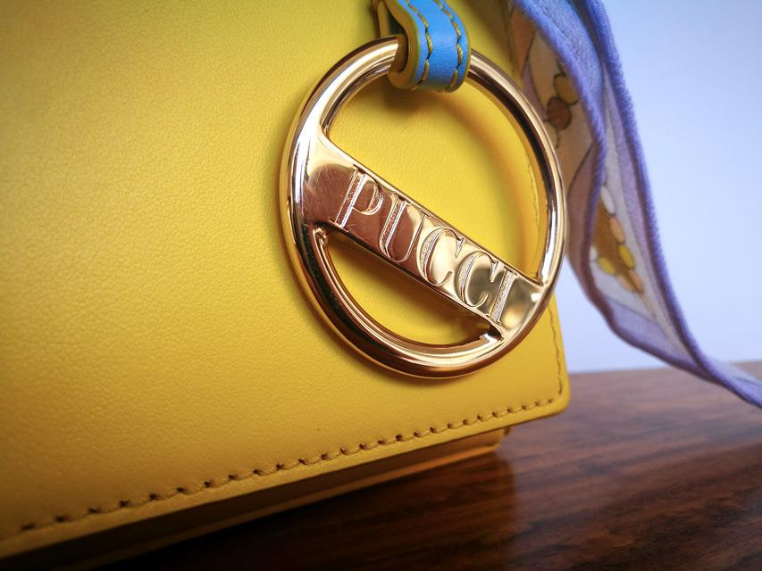 Bolso Emilio Pucci 2019 color amarillo de napa - PATOS Valencia