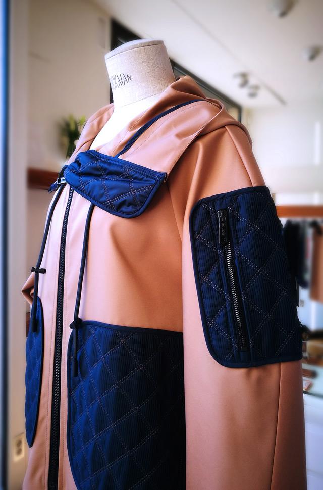 Cazadora de Sportmax 2019 y falda de Emilio Pucci - PATOS Valencia
