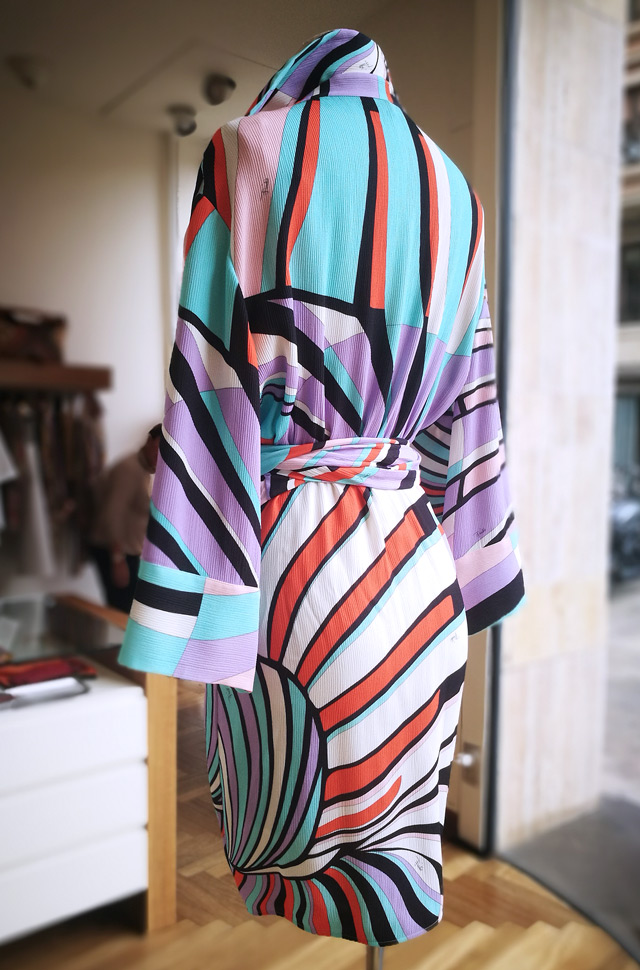 Vestido Emilio Pucci 2019 tejido bambula - PATOS Valencia