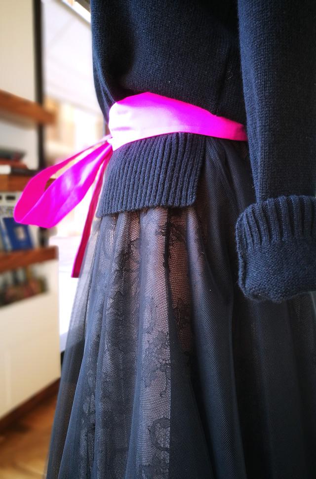 Falde de Rochas y pullover de Roberto Collina, Colección Otoño Invierno 2019 / 2020 - PATOS Valencia