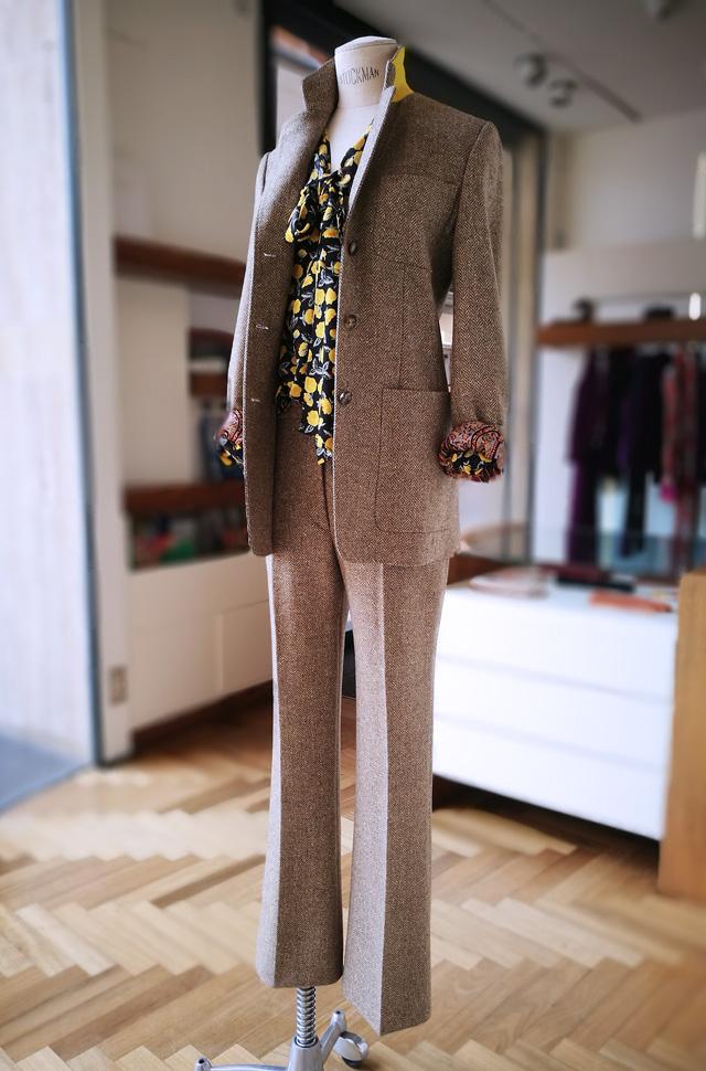 Traje de chaqueta y camisa de ETRO 2019 - 2020 otoño invierno - PATOS Valencia