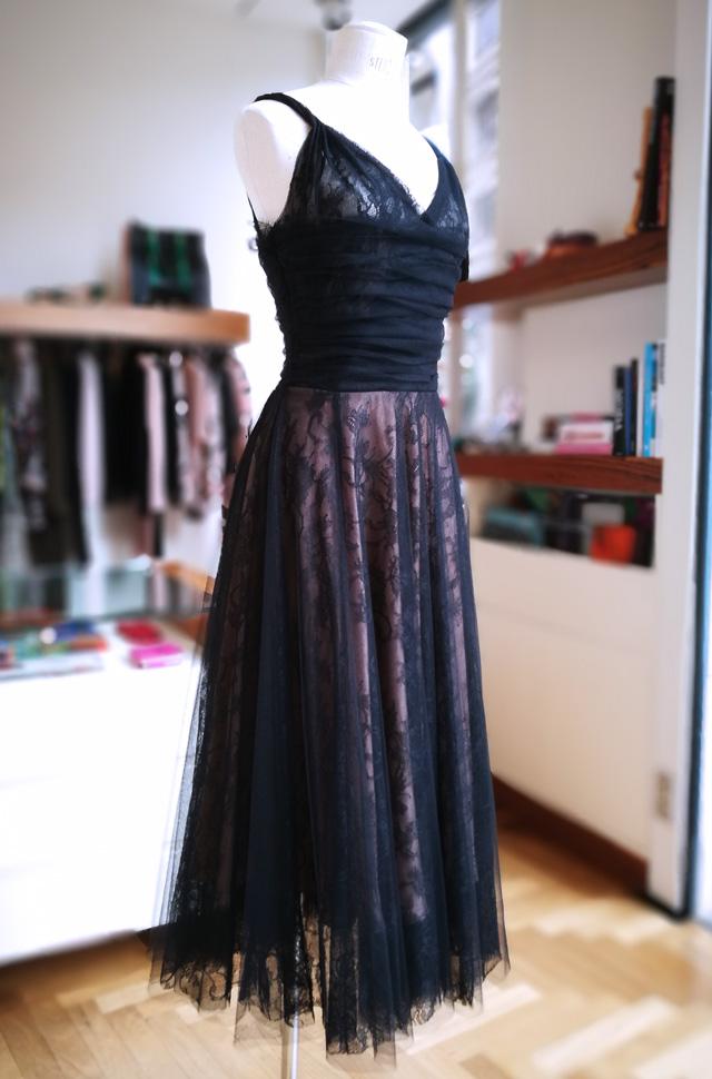 Vestido de Rochas de Alessandro dell'Acqua, de tul y chantillí - PATOS Valencia