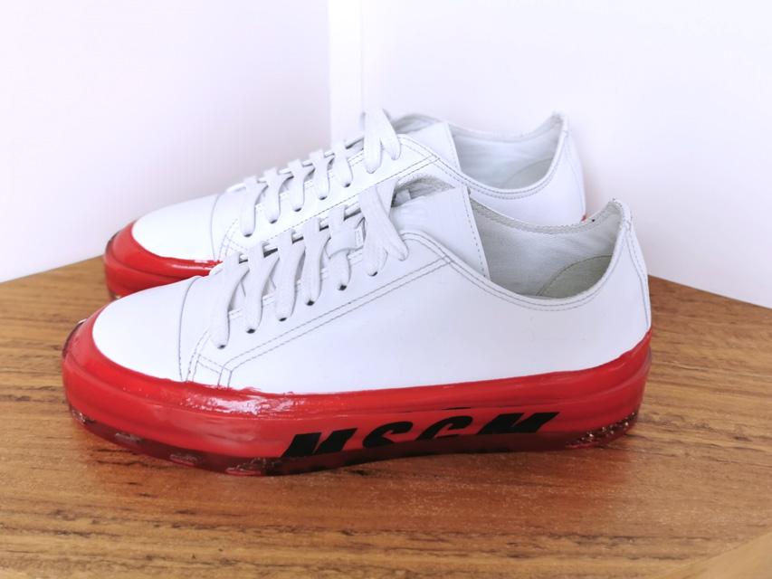 Sneakers de MSGM blancas y suela roja - PATOS Valencia