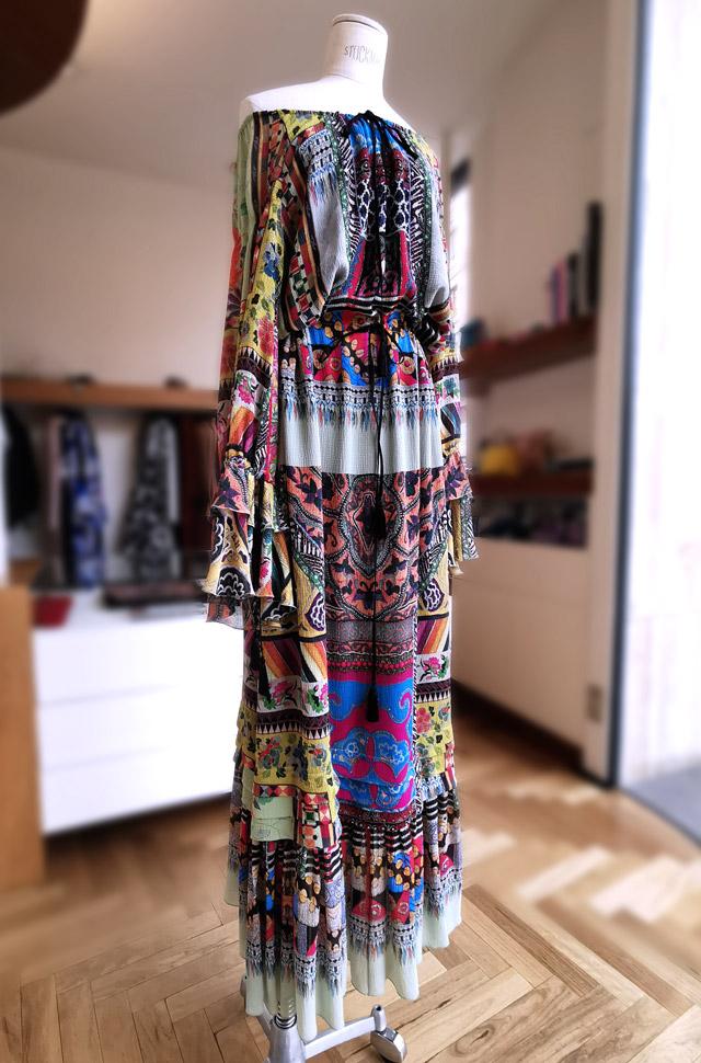Vestido ETRO 2020 Hippie Primavera Verano - PATOS Valencia