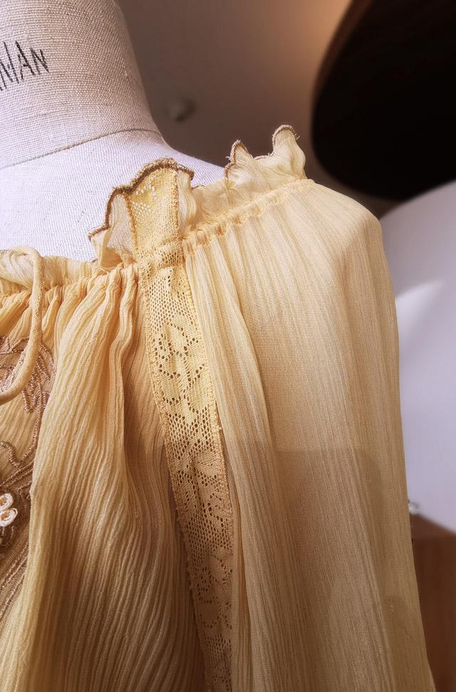 Vestido largo de ETRO 2020 Primavera Verano en muselina de seda - PATOS Valencia