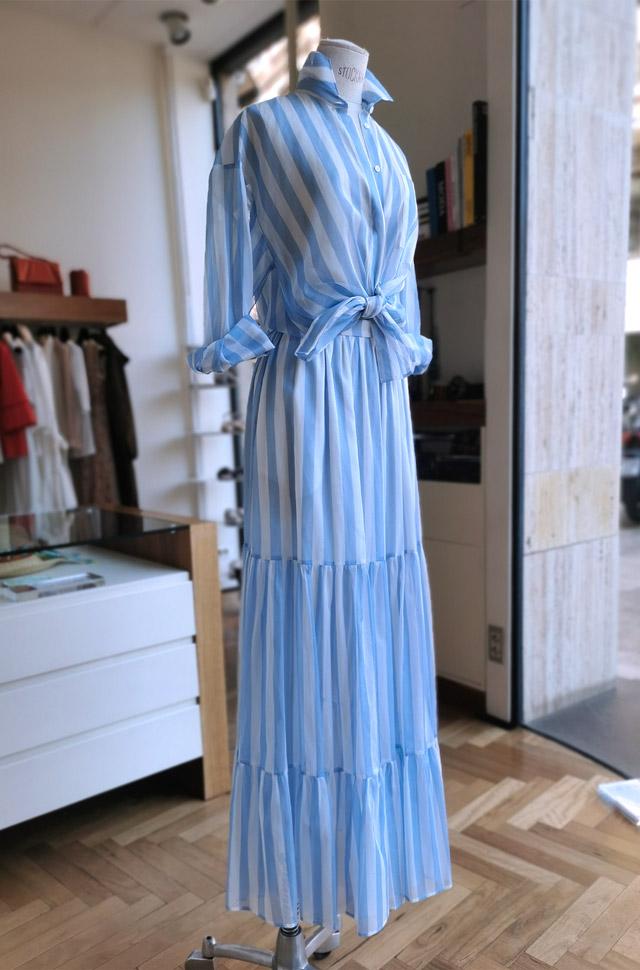 Vestido MSGM asimétrico estampado primavera verano 2021 - PATOS Valencia