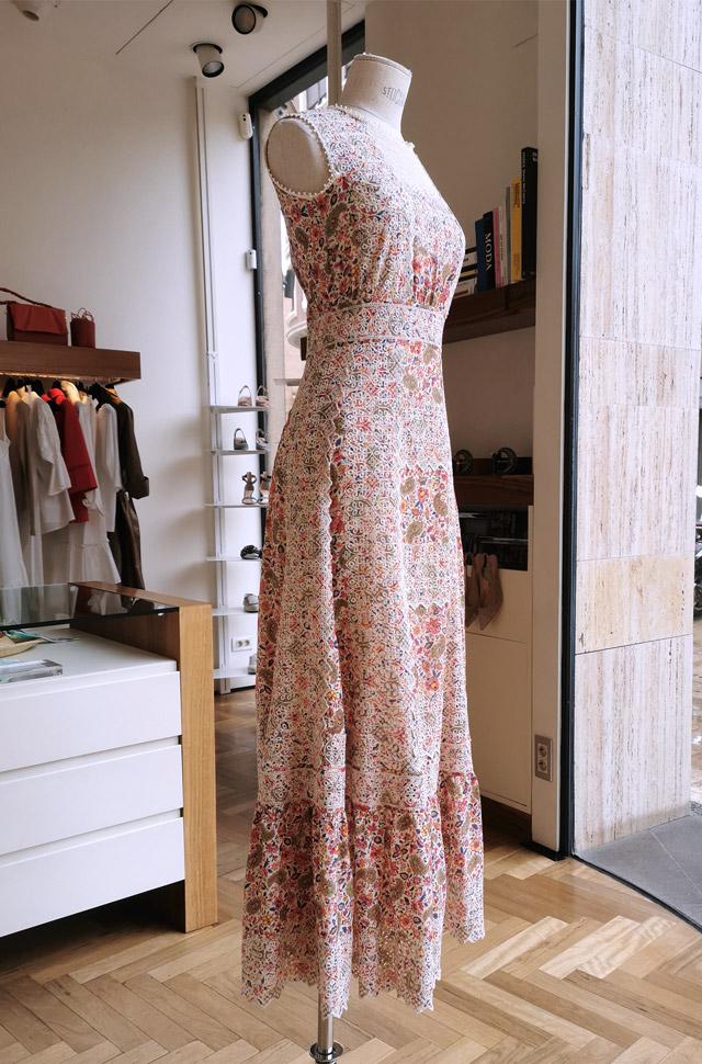 Vestido ETRO Primavera Verano 2021 con tejido de popelín - PATOS Valencia